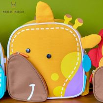 Βρεφική Iσοθερμική Τσάντα πλάτης 3D ζωάκι Marcus & Marcus Καμηλοπάρδαλη 2019