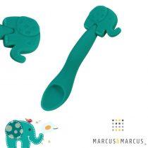 Βρεφικό Kουτάλι σιλικόνης μασητικό Ελεφαντάκι Μarcus & Marcus