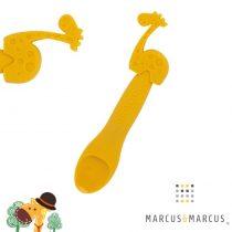 Βρεφικό Kουτάλι σιλικόνης Καμηλοπάρδαλη Μarcus & Marcus