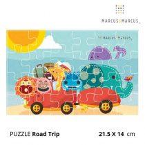Βρεφικό Πάζλ Summer Road ζωάκια marcus & marcus puzzle 21.5x 14 cm