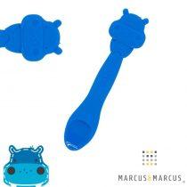 Βρεφικό Κουτάλι σιλικόνης μασητικό Ιπποπόταμος Μarcus & Marcus μπλέ