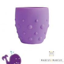 Βρεφικό Παιδικό Ποτήρι σιλικόνης καρούμπαλα Marcus & Marcus Μοβ