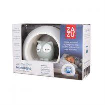 Lou Κουκουβάγια παιδικό Φώς νυκτός με ηχητικό αισθητήρα ZAZU grey