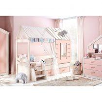 Παιδικό κρεβάτι Pink House