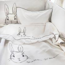 Rabbit de Niro Κουβέρτα Πικέ Κρεβατιού