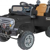 Globo Ηλεκτροκίνητo Jeep Car Off Road Μαύρο 12V Με Τηλεχειριστήριο(39347)