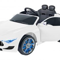 Globo Ηλεκτροκίνητο Αυτοκίνητο MASERATI ALFIERI WHITE 12V Με Τηλεχειριστήριο
