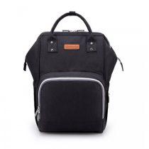 Τσάντα πλάτης μωρού μαύρη με usb