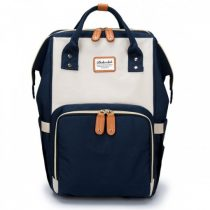 Τσάντα πλάτης μωρού μπλε-μπεζ
