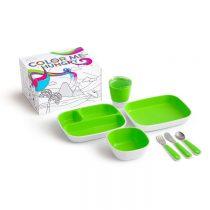 Munchkin Splash Dining Set Green