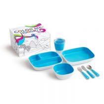 Munchkin Splash Dining Set Blue