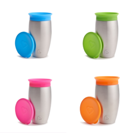 MIRACLE 360° STAINLESS STEEL SIPPY CUP