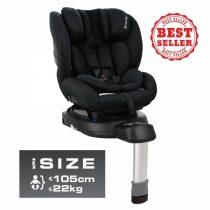 Κάθισμα Αυτοκινήτου Megan i-Size 360° Black 926-188