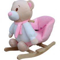 Κουνιστό Αρκουδάκι Just Baby με ήχους ροζ