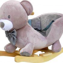 Κουνιστό Αρκουδάκι Just Baby με ήχους Γκρι