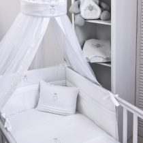 Kουνουπιέρα με θόλο Baby Oliver σχέδιο 380 satin grey