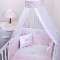 Kουνουπιέρα με θόλο Baby Oliver σχέδιο 382 satin pink