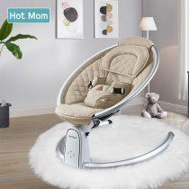 Ρηλάξ Hotmom με τηλεκοντρόλ και ήχους BB200 Mπεζ