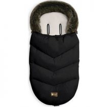 Kikka Boo Ποδόσακος Luxury Fur Black