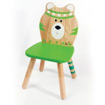 Svoora Παιδική Ξύλινη Καρέκλα Indianimals 'Αρκουδάκι