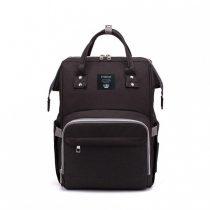 Τσάντα πλάτης μωρού Erdoran μαύρη