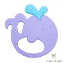 Bρεφικός Κρίκος οδοντοφυΐας Μασητικό σιλικόνης 5 Αισθήσεων Μarcus&Marcus φάλαινα whale sensory.