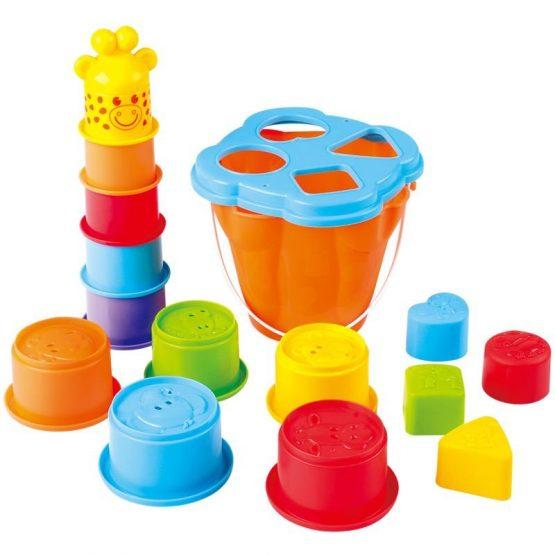 Playgo Καμηλοπάρδαλη Sort & Stack Παιχνίδι Δραστηριοτήτων