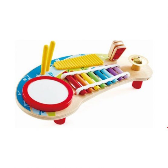 Hape Early Melodies Ξύλινο Music Station 5 σε 1