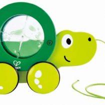 Hape Push & Pull Ξύλινη Συρόμενη Χελώνα Tito (E0354A)