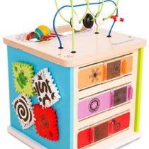 Hape Kids II Ξύλινο Newton Cube Κύβος Δραστηριοτήτων (800808)