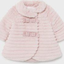 Mayoral Παιδικό Παλτό Κοντό για Κορίτσι Ροζ