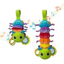 Infantino Βρεφικο Παιχνίδι Hug & Tug Musical Bug