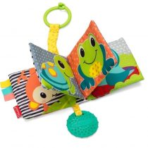 Infantino Link & Squeak Animal Crinkle Book