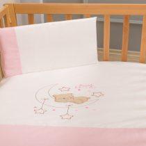 Σετ σεντόνια κούνιας FUNNA BABY Sweet Dreams pink